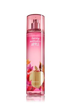 Honey Autumn Apple Fine Fragrance Mist - Signature Collection - Bath & Body Works... i have this <3 best smell everrr