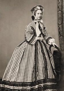 Prints Civil War Photos Women in Plaid Dresses | eBay