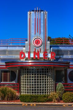 Eveready Diner, Hyde Park, NY.  Good food in an amazing retro diner, with a roller rink across the parking lot and a drive-in theatre just down the road!