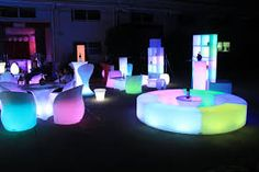 Re-Pinned by  project-rave.com  #projectrave #LEDfurniture