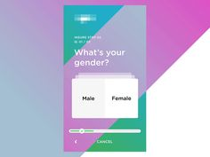 Swipe right or left to answer binary questions within a form Page Design, Ui Design, Survey Design, Investing Apps, Simple App, User Experience Design, Ui Inspiration, Mobile Design, Interactive Design