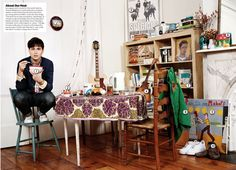 Some boho apartment inspiration from the love of my life, Ezra Koenig
