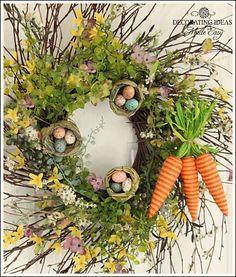 Easter Wreath- Make a Beautiful Wreath