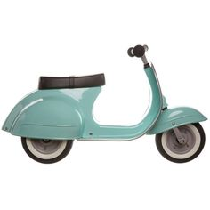 Give kids their first taste of a classic with the Primo Ride-On Push Scooter, made of powder-coated iron and patterned after a vintage Italian model. Classic Italian, Vintage Italian, Italian Scooter, Italian Models, Artificial Leather, Kids Toys, Toddler Toys, Baby Toys, Kids Ride On Toys