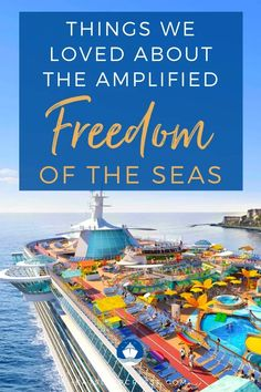 Our 9 Things We Loved About the Newly Amplified Freedom of the Seas will show you why you need to book this Royal Caribbean ship for your next cruise. Cruise Checklist, Cruise Tips, Cruise Travel, Cruise Vacation, Vacations, Liberty Of The Seas, Freedom Of The Seas, Caribbean Cruise Line, Royal Caribbean Ships