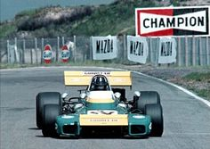 Austria 1971 Graham Hill Brabham BT34