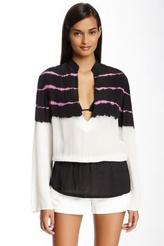 Monique Leshman Tango Silk Tunic by Monique Leshman on @HauteLook