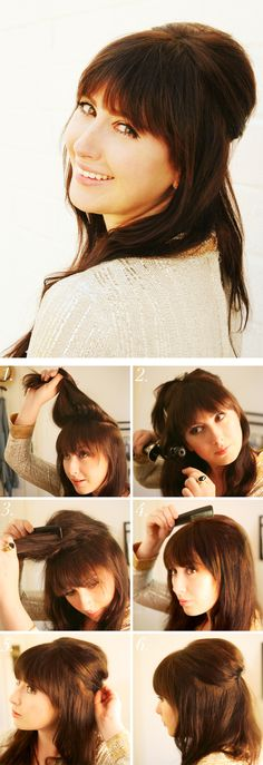 how to get a 60's look (: