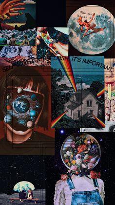 Iphone Wallpaper Nasa, Iphone Wallpaper Themes, Cute Patterns Wallpaper, Cute Wallpaper Backgrounds, Pretty Wallpapers, Galaxy Wallpaper, Hippie Wallpaper, Trippy Wallpaper, Mood Wallpaper