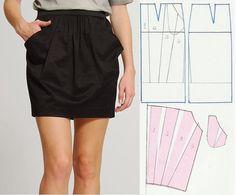 patrones faldas transformadas