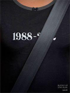 """Publicidad al servicio de la Seguridad: """"El cinturón de seguridad salva vidas: un anuncio fantástico"""""""