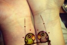 "Cool Tattoo Designs | Cool Tattoos - Part 2 this would be a cute ""best friends"" tattoo!!"