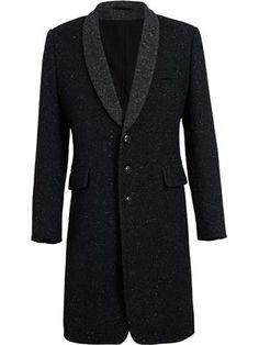 Wool Blend Tweed Coat  :  Ann Demeulemeester