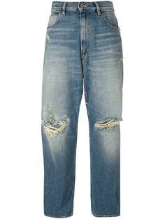 Shop Golden Goose Deluxe Brand distressed boyfriend jeans.