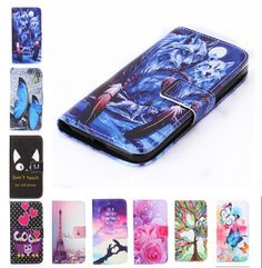 New Painted wallet Phone cover Rose Flower Tower Flip Leather Case For Samsung Galaxy Grand prime G530 G530F G530H G531H G531F