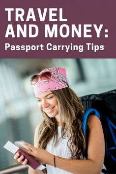 Travel and Money: Passport Carrying Tips | The Best Travel Tips | Travel Advice For The Experts | How To Keep Your Passport Safe | Top Traveling Hacks | See Your Passport Safe on Vacation