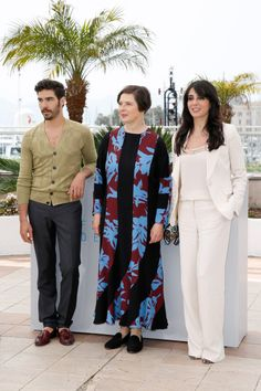 Actors Tahar Rahim, Isabella Rossellini, and Nadine Labaki attend a photocall for the Jury Un Certain Regard during the 68th annual Cannes Film Festival on May 14, 2015 in Cannes, France. Photo by Tristan Fewings.