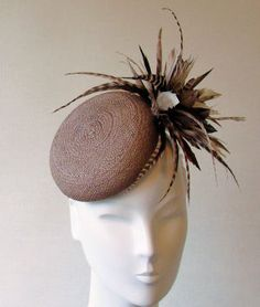 Siggi Hats - millinery designs hand crafted in England for weddings, Ascot and Bar Mitzvahs £260.00
