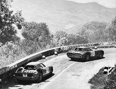 Ferrari 250GTO no. 118, Ferrari 250LM no. 140 (Targa Florio 1965)