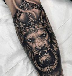 Tattoo ideas and designs for men - millions grace tattoos tatuajes para hom Leo Tattoos, Bild Tattoos, Dope Tattoos, Forearm Tattoos, Animal Tattoos, Body Art Tattoos, Grace Tattoos, Maori Tattoos, Lion Tattoo Sleeves