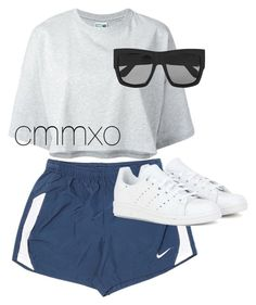 """Untitled #898"" by cmmxo ❤ liked on Polyvore featuring NIKE, Puma, Gucci and adidas"