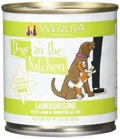Weruva Dogs in the Kitchen Lamborghini Lamb and Pumpkin Food (12 Pack), 10 oz *** Don't get left behind, see this great dog product : Dog Food
