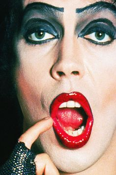 BROTHERTEDD.COM - hollywoodlady:   Tim Curry in  The Rocky Horror... Rocky Horror Show, The Rocky Horror Picture Show, Tim Curry, Film Score, Horror Movies, Septum Ring, Pictures, Theater, Halloween