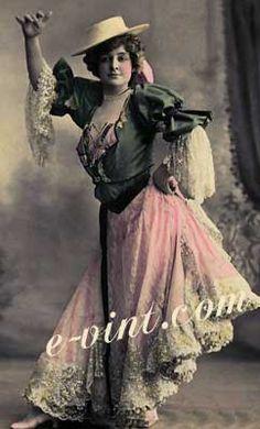 Vintage Spanish Costumes Image Detail