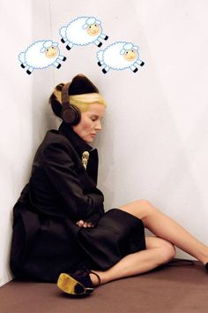 Daphne Guinness: proof even icons need a little rest