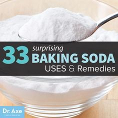 33 Surprising Baking Soda Uses & Remedies:Many of us think of baking soda as an ingredient used for cooking, or even something that helps to keep our refrigerators odor-free, but baking soda i...
