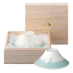 富士碗 夫婦組茶碗