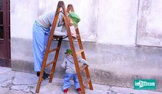 Niemand ist eine Insel Welche Leiter erklimmen wir heute? Blog, Ladder, New Construction, Island, Blogging