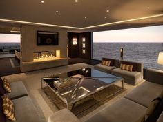 Superyacht Lounge - Lawson Robb www.lawsonrobb.com Interior Architecture . Design . Yachts