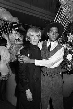 andy warhol jean michel  basquiat  by  ben  buchanan