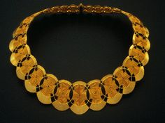 Mary Lee Hu Choker Necklace in 18k and 22k Gold