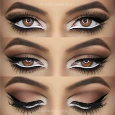 """@amysmakeupbox on Instagram: """"Intricate eyeshadow and liner ❤️ details... ❤ liked on Polyvore"""