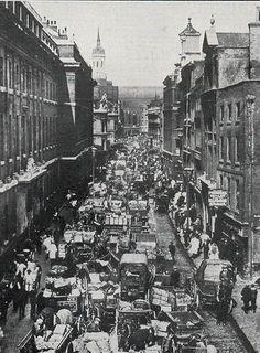 thames street marché, dépôt de marchandises