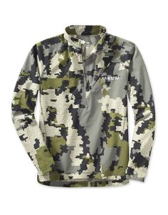 Ultra Tiburon Zip-T Hunting Shirt