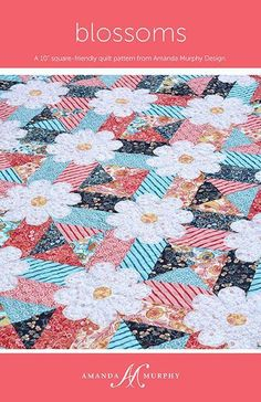 (7) Name: 'Quilting : Blossoms