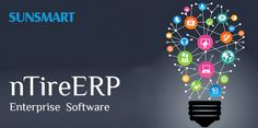 Sunsmart Global introduced to nTireERP is a comprehensive information system that addresses all the needs of an enterprise with the process view of an organization, to meet the organizational goals and integrate all the functions of the enterprise. nTireERP is a fully scalable, robust and 100% Web based Enterprise Resource Management System that automates both internal and external processes of your company.
