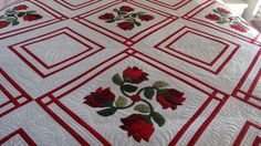 Ruby Roses Charity Quilt. 2014