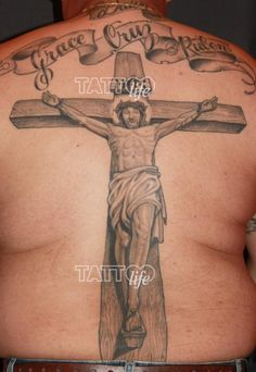 Tattoo Or Taboo? Christian Themed Tattoos Are On The Rise (tattoo by Enrique Castillo) Wanna know more? http://tattoolifemagazine.tumblr.com