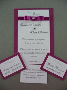 wedding invitation card - for inspiration
