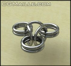 Tutorial Inverted Round Of Chain Maille - CGMaille Jump Ring Jewelry, Wire Jewelry, Jewellery, Chainmaille, Chainmail Patterns, Jewelry Making Tutorials, Free Tutorials, Jewelry Patterns, Jewelry Design