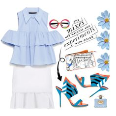 How To Wear Color for the summer Outfit Idea 2017 - Fashion Trends Ready To Wear For Plus Size, Curvy Women Over 50 Summer Outfits 2017, Fashion 2017, Fashion Trends, Polyvore Fashion, Cool Outfits, Clothes For Women, My Style, How To Wear, Paul Andrew