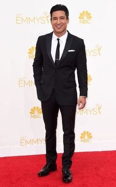 Mario Lopez from 2014 Emmys