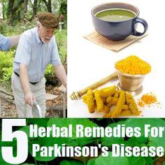 Top 5 Herbal Remedies For Parkinson's Disease