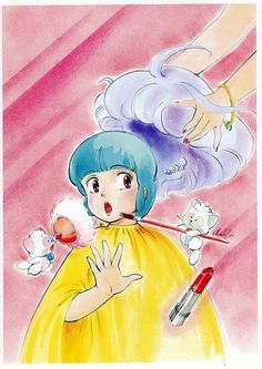 Creamy Mami, with designs by  Takada Akemi-san