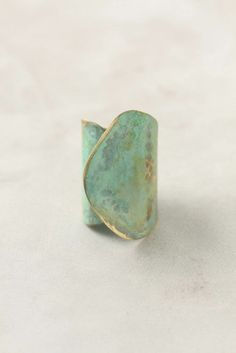 gorgeous mint/turq ring