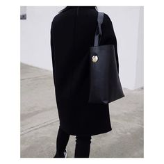 Regram via Andy Heart wearing  ATP Atelier exclusive bag Pienza